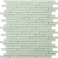 Emser 12-in x 12-in Lucente Cascade Glass Wall Tile
