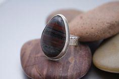 Chunky Stone Ring by OlgaGanoudis on Etsy, $220.00