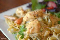Platter Talk: Slow Cooker Creamy Chicken - 8 Minute Prep Time.