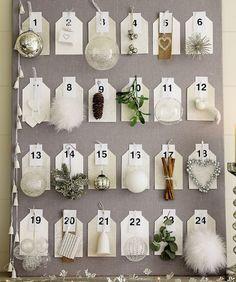 christmas countdown, christmas holidays, nordic design, white christmas, decorations, christmas ornaments, vintage diy, french chic, christmas advent calendars