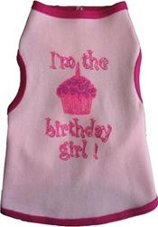 """$17.95 #BIRTHDAY #GIRL #DOG #TANK - Let everyone know who the """"furry"""", birthday girl is! Available in sizes XXS-2XL at Sugar Chic Couture."""