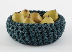 "Free pattern for ""Medium Crocheted Bowl""!"