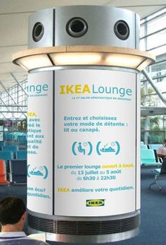 IKEA Lounge Makes Paris Airport Bearable | COUNSEL