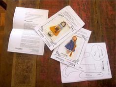 Costura Katia, Costura!: Molde de Bonecas do Estúdio Criativo - Kátia Calla...