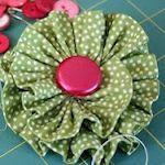 sew, craft, tutorials, ruffl, fabric flowers, accessori, bow, flower tutorial, diy