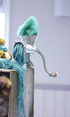 How yarn is made. I am doing it wrong!!!! Joax