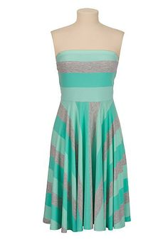 Multi Stripe tube dress (original price, $29) available at #Maurices