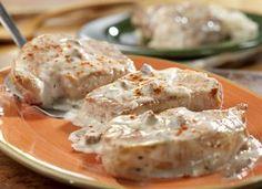 Creamy Ranch Pork Chops #recipe