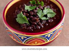 Spicy Mexican Black Beans