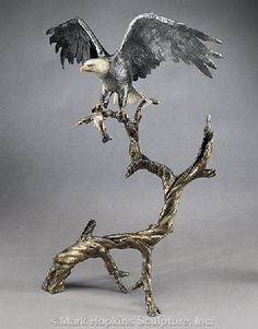 Mark Hopkins Bronze Sculpture  www.artifactsgallery.com