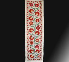 "Suzani table runner - Deminsions: 146 cm x 51 cm (57"" x 20"")"