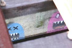 Pacman guys on a bridge