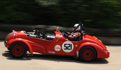 The Pittsburgh Vintage Grand Prix sports car race at Schenley Park in Pittsburgh, Pennsylvania.