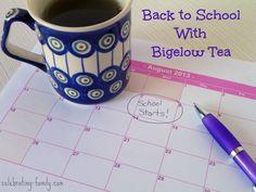 Back to School with Bigelow Tea #AmericasTea #shop #cbias