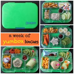 A week of @yumbox lunches - mamabelly.com