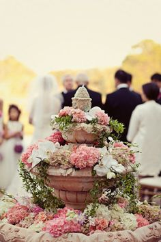 flower - filled - fountain.