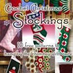 This year, create handcrafted crochet Christmas stockings for each member of the family! These free patterns will help you make some special holiday magic.