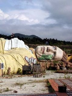 15 of the World's Most Strange Abandoned Places - Gulliver's Kingdom, Japan