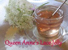 Mrs Flea's Queen Anne's Lace Jelly  half pint by MrsFleasMarket, $6.00