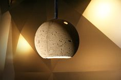 The CONCRETE_LAMP, designed by unit-berlin for the famous .HBC Restaurant in Berlin.