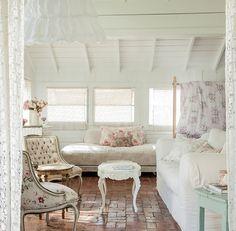 cozi sweet, floors, brick floor, shabby chic, shabbi chic, bricks, chic home decor, cozi cottag, sweet dream