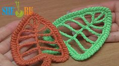 Crochet Leaf Tall Stitches Tutorial 18 http://sheruknitting.com/videos-about-knitting/crochet-leaf-lessons/item/245-crochet-leaf-with-tall-stitches.html Learn how to crochet a beautiful leaf of very tall crochet stitches such as: double treble crochet, triple treble crochet, quadruple treble crochet, quintuple treble crochet, sextuple treble crochet. It sounds difficult... yeah, may be it is... Follow instructions of our crochet tutorial and we know you will do it!....