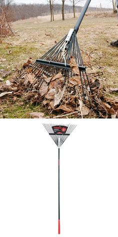 "This steel leaf rake is strong enough to handle the toughest jobs... and the toughest handling: ""It's sturdy and survived rough use by teenagers. This was purchased for a Scout project to re-landscape a garden at the church. I was unsure if the rake would survive their enthusiastic (brutal!) force, but it surely did."" -Home Depot customer who goes by the handle ""safe"""