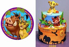 wow! check out this Lion King cake by Peggy Does Cake!