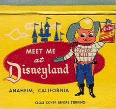 The Frito Kid at Disneyland