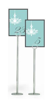 #Tiffany Blue Wedding ... Tiffany Blue and Charcoal Table Numbers  www.egovolo.com
