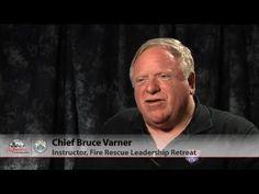 Chief Bruce Varner on Brunacini Retreat