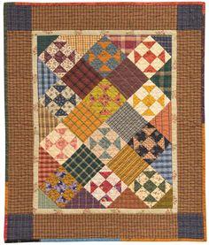 Shoofly Potpie quilt by Kim Diehl