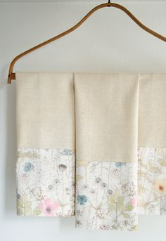 Molly's Sketchbook: Liberty Tea Towels - Knitting Crochet Sewing Crafts Patterns and Ideas! - the purl bee