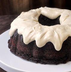 Chocolate Zucchini Cake with Cream Cheese Glaze - Rock Recipes