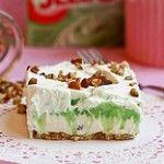 Pistachio Pudding Layer Dessert.