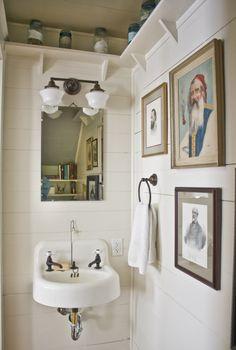 upstairs bathroom ideas. the sink