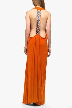Tallow Beaded Strap Maxi Dress  #UrbanOutfitters
