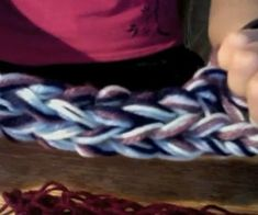 How to finger knit (easy + no tools needed!)