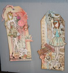 Prima Marketing, Inc.'s Mixed Media Doll Stamps