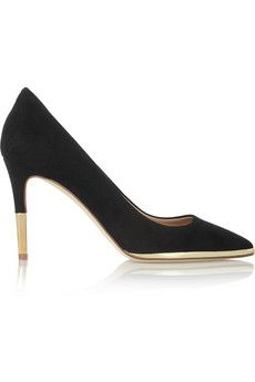 Everly suede pumps by: J.Crew