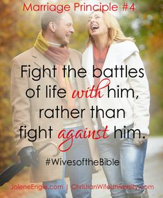 Marriage Principle #4 from the life of Job's wife- Wives of the Bible by Jolene Engle