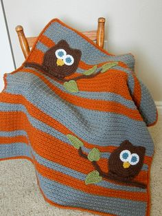 @Kathy Ahlbrandt what about an owl blanket for Ali? (I'm having a hard time thinking of a character she wouldn't grow out of too quickly.) She has an owl rug and poster in her room. Colors: pink, blue, green/yellow, white. ?