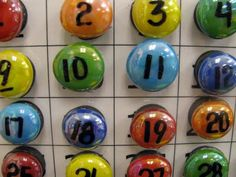 Student numbers.  Magnets.  I give my students numbers too, but this makes them even MORE useful!