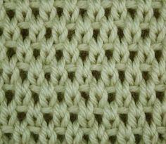 knit stitch, moss stitch