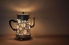 Beautiful upcycled lamps