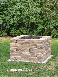 Build a backyard fire pit
