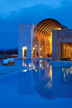The Blue Palace, Isle of Crete, Greece. So beautiful and serene.