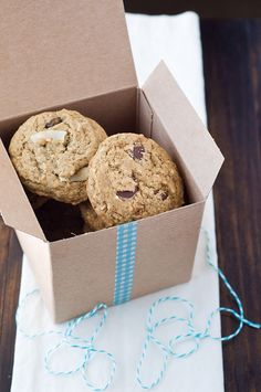 Espresso Dark Chocolate Coconut Cookies by Cook Like a Champion, via Flickr