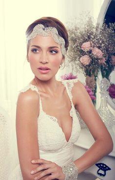 tulle headpiece  #bridalheadpiece