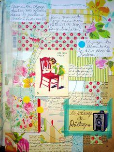 atelier Carnet de Printemps Elisa P